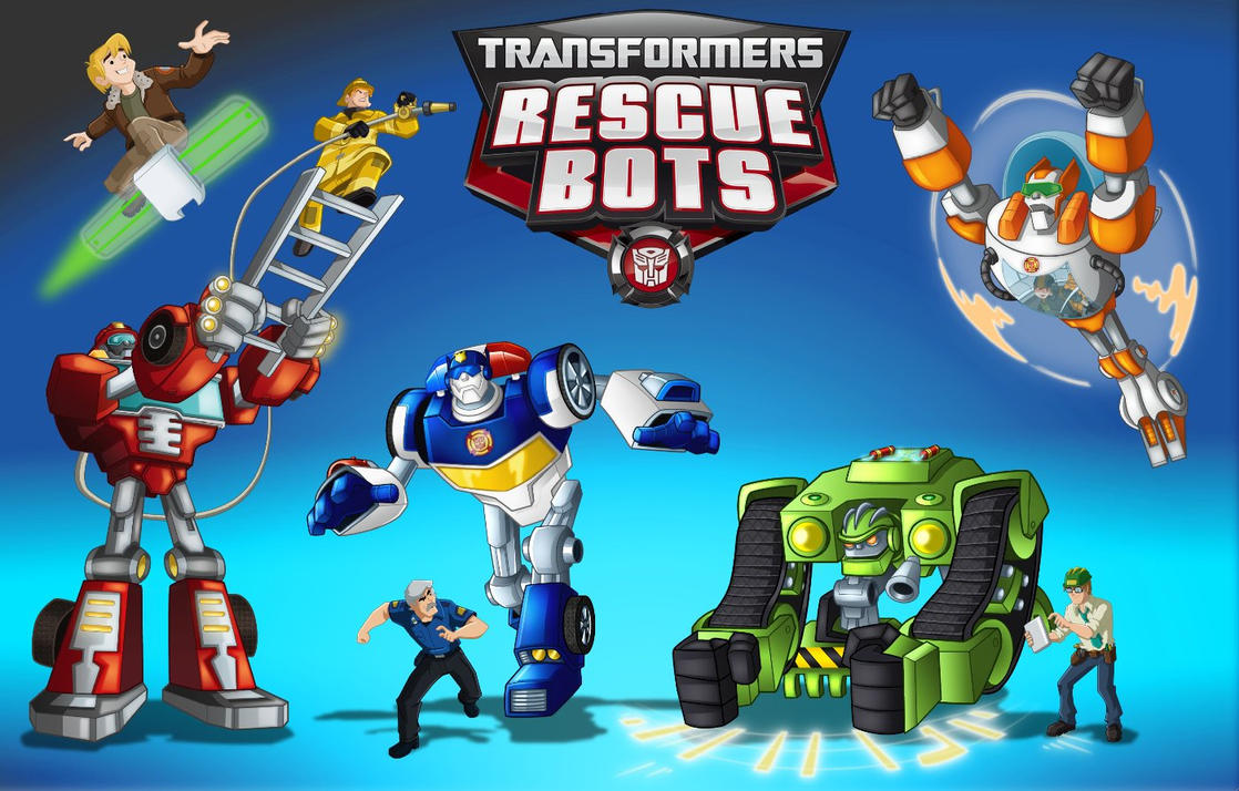 Transformers Rescue Bots Party Decorations