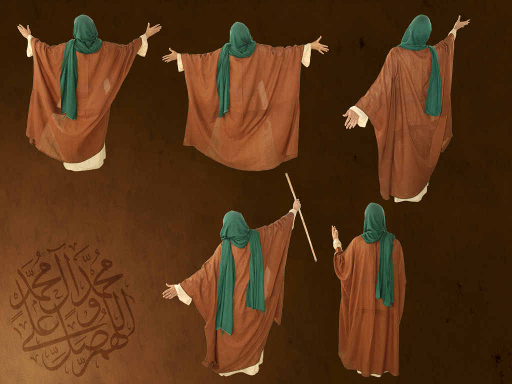 Arab's old style clothes