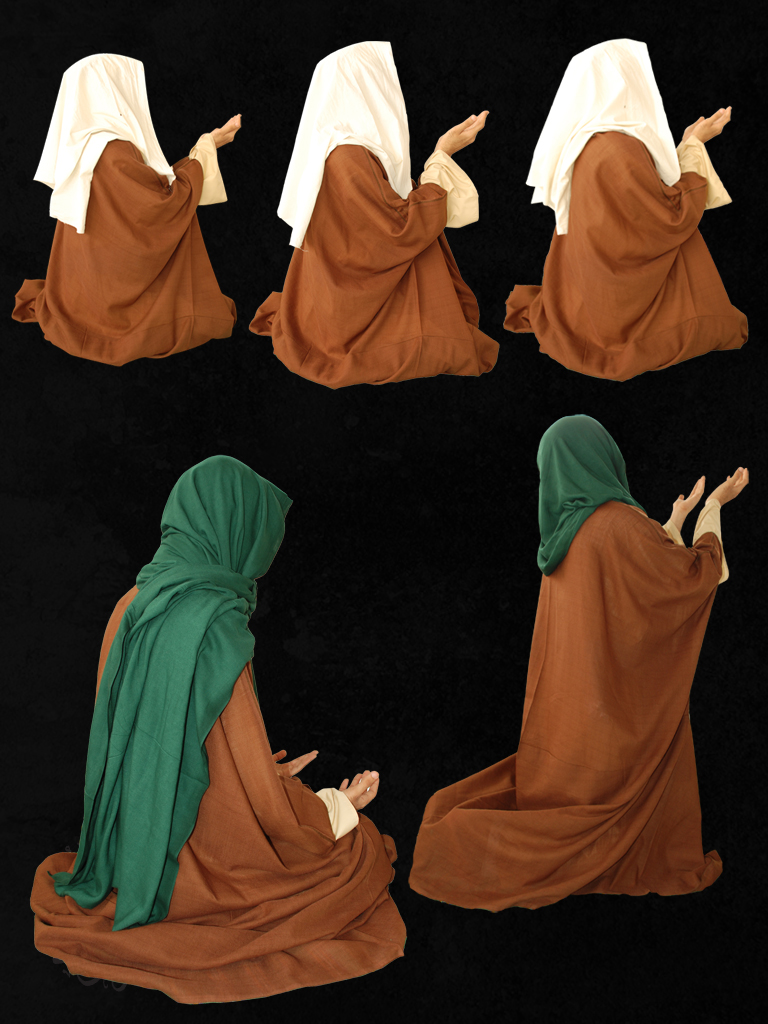 Arab's old style clothes 9