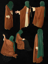 Arab's old style clothes 14 by Mustafa-H