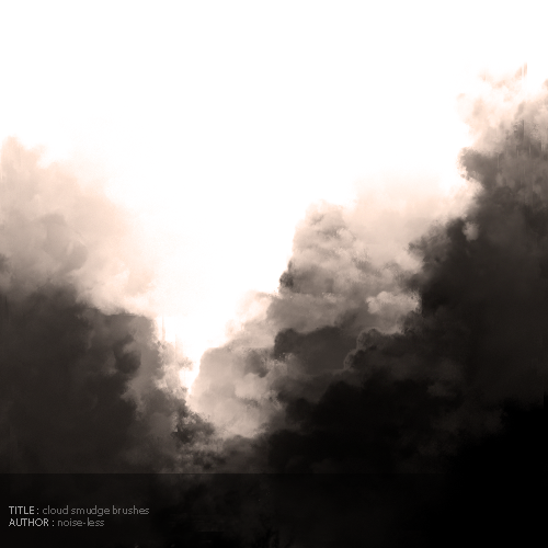 Cloud Smudge Brushes