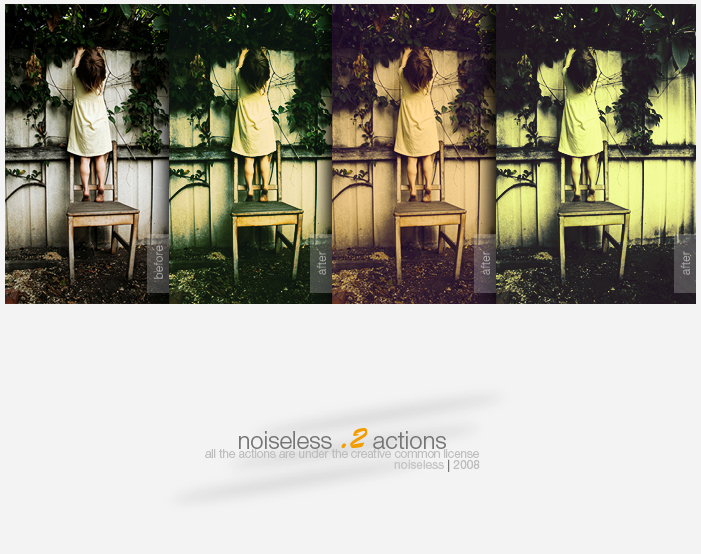 NoiseLess .2 Actions