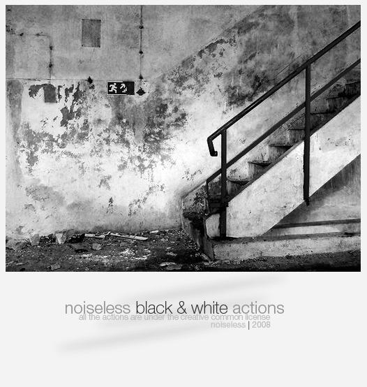 NoiseLess Black And White