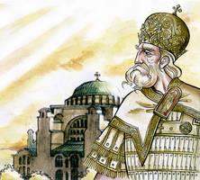 Byzantine Emperor Nikephoros Phokas by NikosBoukouvalas