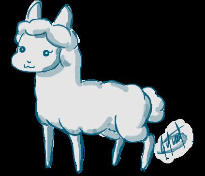Intento de Llama by Lilathecat17