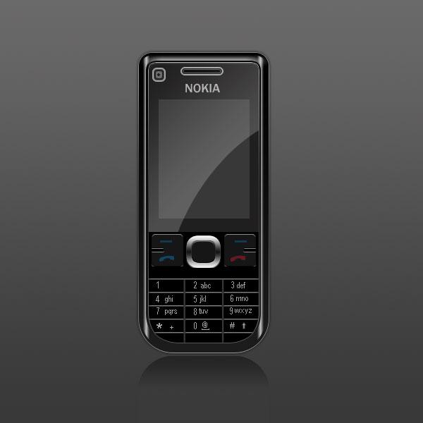 nokia phone black