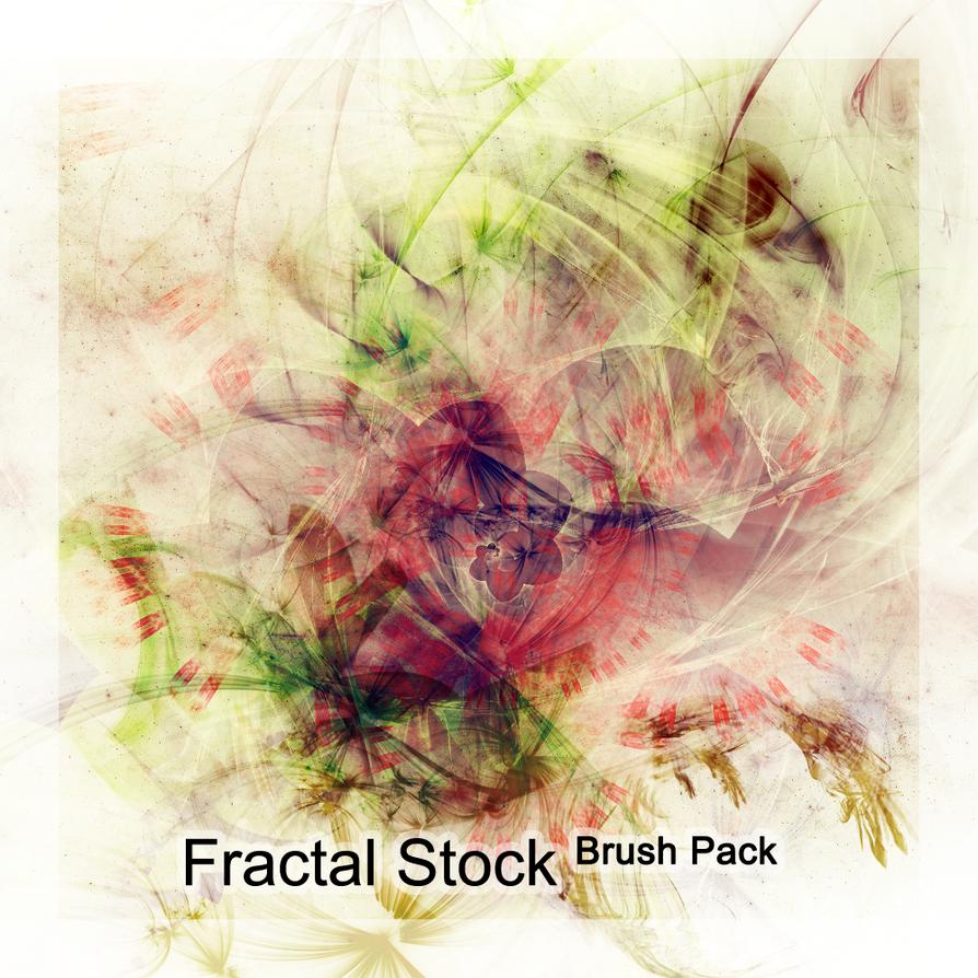 dA Stock Fractal Brush Pack by CaseyKr