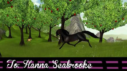 Happy Birthday Hanna Seabrooke