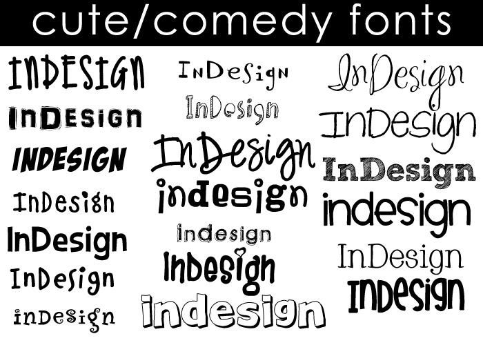 Cute Comedy Fonts By Moonangel517 On Deviantart