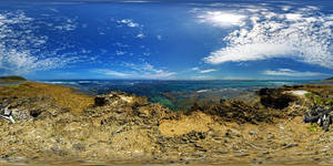 Tide Out Island of Point Nepean 360 VR Panorama