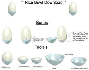 MMD Rice Bowl Download