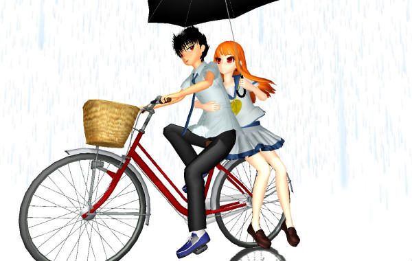 MMD Bicycle Ver 2 DL by MiraMiraDance