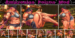 Amazonian Poison Muscle Mod + Pinup Gallery