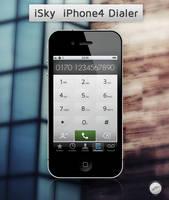 iSky iPhone4 Dialer by FloStyler0408
