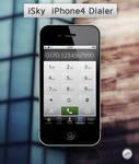 iSky iPhone4 Dialer