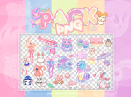  PACK 200 WATCHERS PACK PNG  by fxrst-love