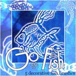 Go Fish - fish brush set 1
