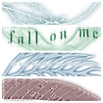Fall On Me - 25 leaf brushes