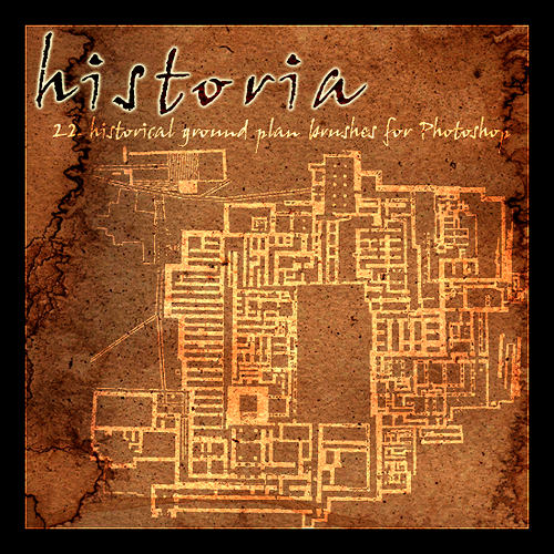 Historia - ground plan brushes