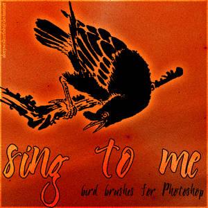 Sing to me - bird brushes