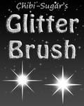 Glitter sparkle brushes
