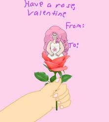A Rose (Quartz) for my Valentine