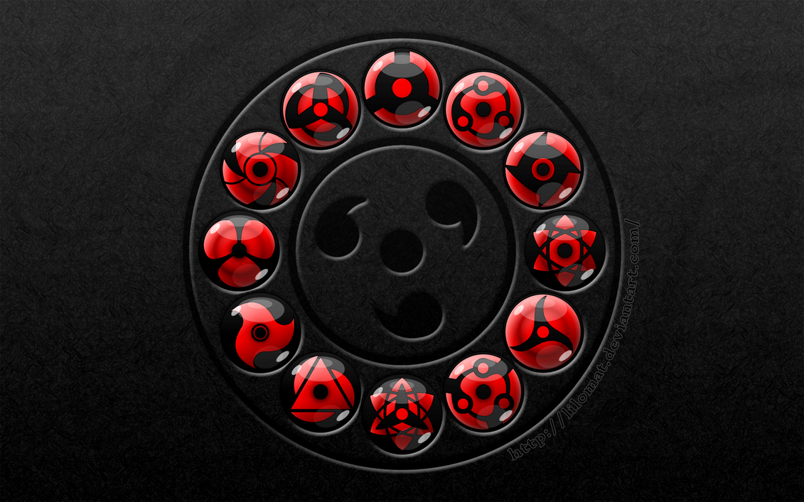 Wallpaper: Sharingan circle2 by lilomat on DeviantArt