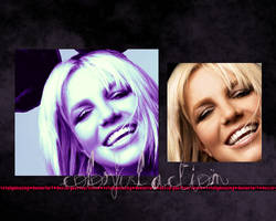 Colorful Britney Action. by totallyamazing