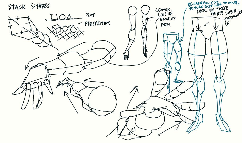 Drawing tips 1 by DanNortonArt
