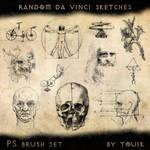 Random Da Vinci Sketches
