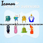 Iconos De Hora De Aventura ZIP. By: Me