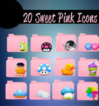 20 Sweet Pink Icons