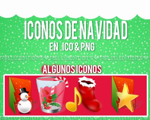 Iconos de Navidad:3 .ZIP by MeluuEditions