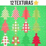 12 lindas texturas de navidad w.w .ZIP