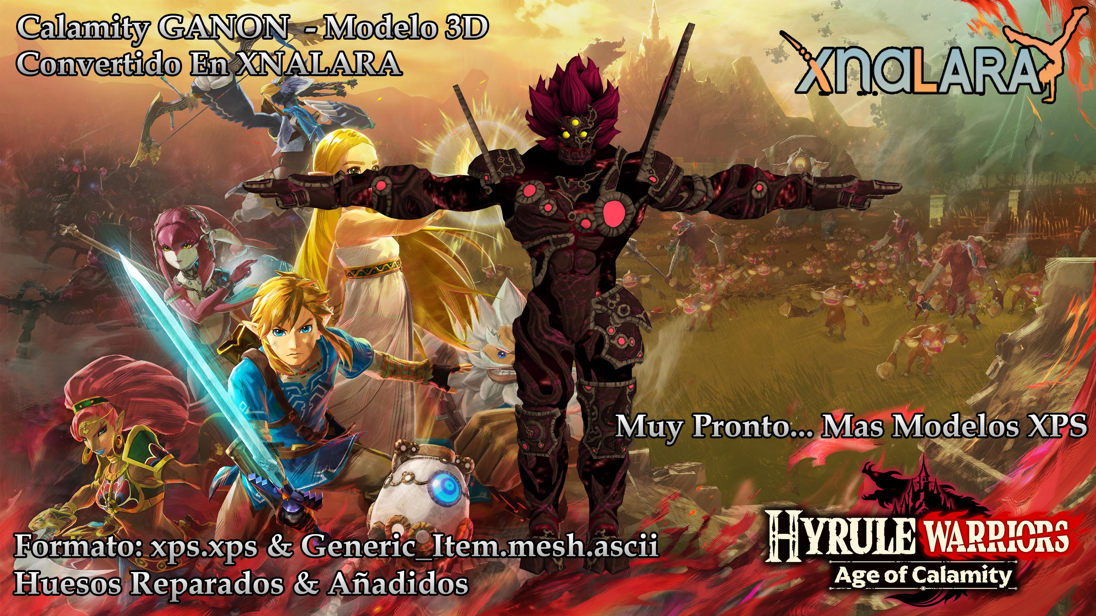 Ganon Hyrule Warriors Age Of Calamity Xnalara By Higuys920 On Deviantart