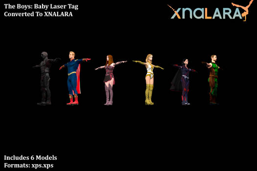 The Boys Baby Laser Tag - All Models (XPS)