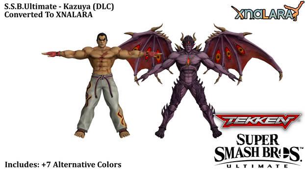 S.S.B.Ultimate - Kazuya (XNALARA) by HiGuys920
