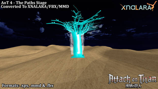 AoT 4 - The Paths Stage (FBX/XPS/PMX)