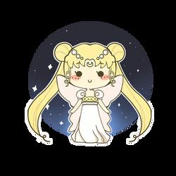 Sailor Moon Princess Serenity by MinjiXMuu-chan