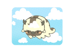 Animated Appa flying