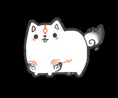 Chubbiterasu by MinjiXMuu-chan