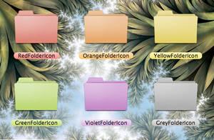 Colored Folders - Leopard by 177aharba