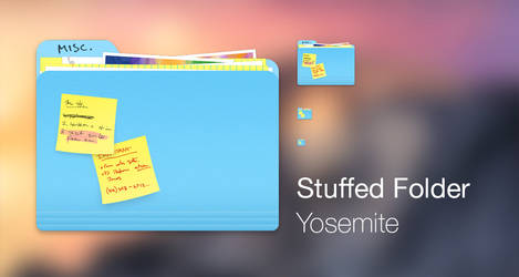 Stuffed Folder - Yosemite