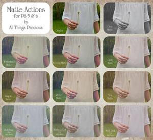 ATP Matte Actions Set.