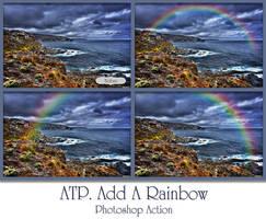 ATP. Add A Rainbow Photoshop Action by AllThingsPrecious