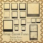 Vintage Polaroid Frames Brushes