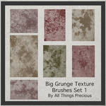 Grunge Texture Brushes 1 By All Things Precious