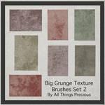 Big Grunge Texture Brushes Set 2