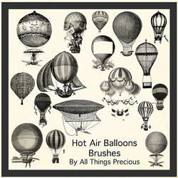 Hot Air Balloon Brushes