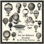 Hot Air Balloon Brushes